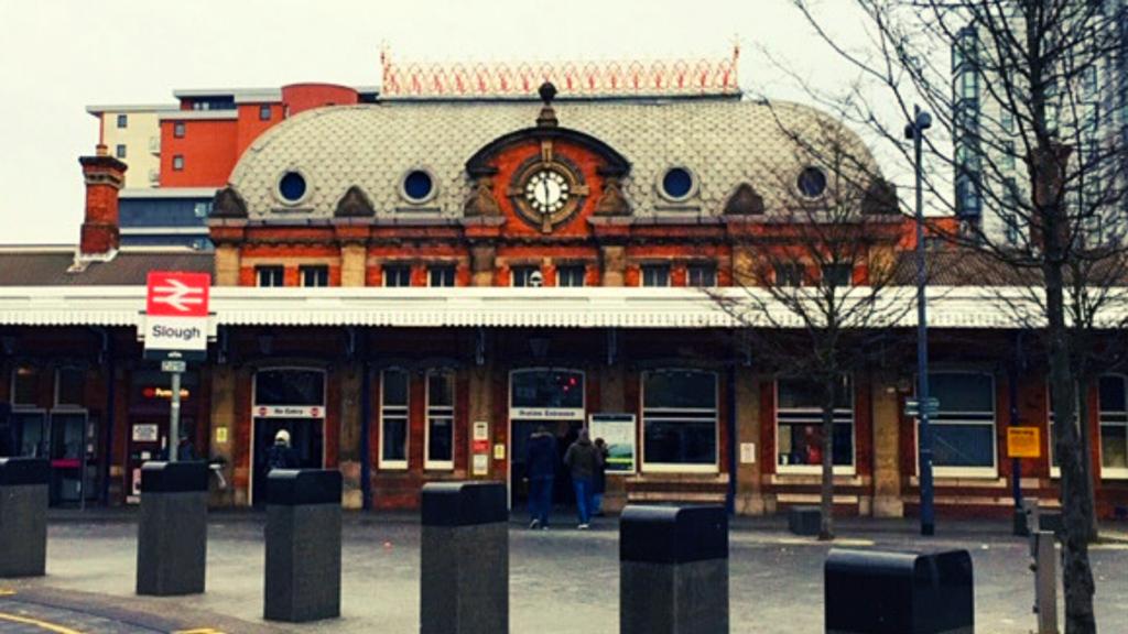 Slough Station England